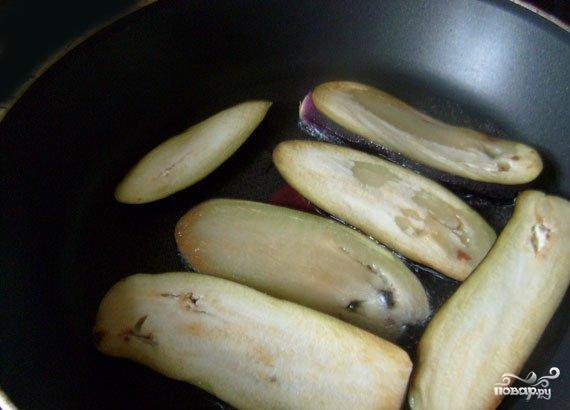 Горячий салат с баклажанами - фото шаг 3