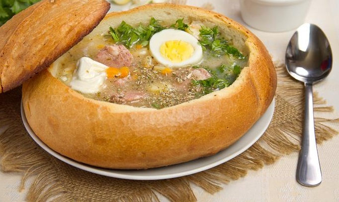 Суп в хлебе по-польски - фото шаг 9