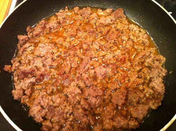Рис с фаршем на сковороде - фото шаг 4