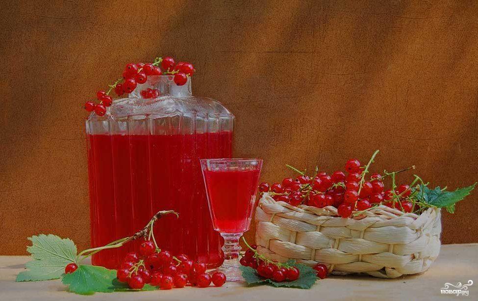 Рецепт Водка на смородине