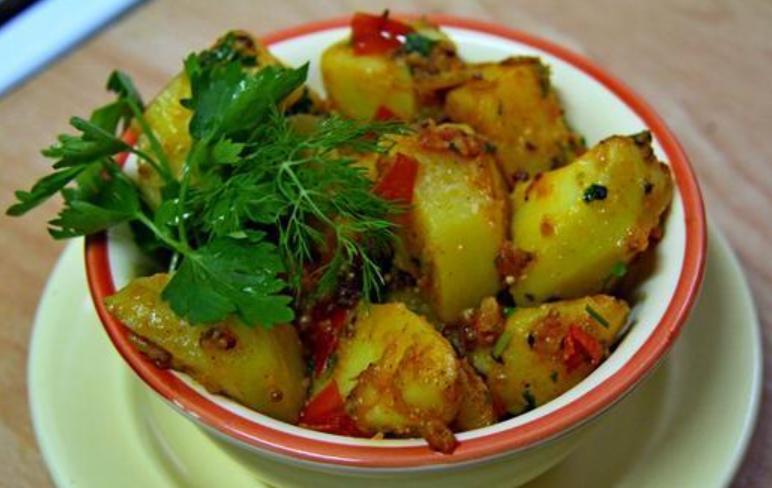 Картофель по-бомбейски - фото шаг 6