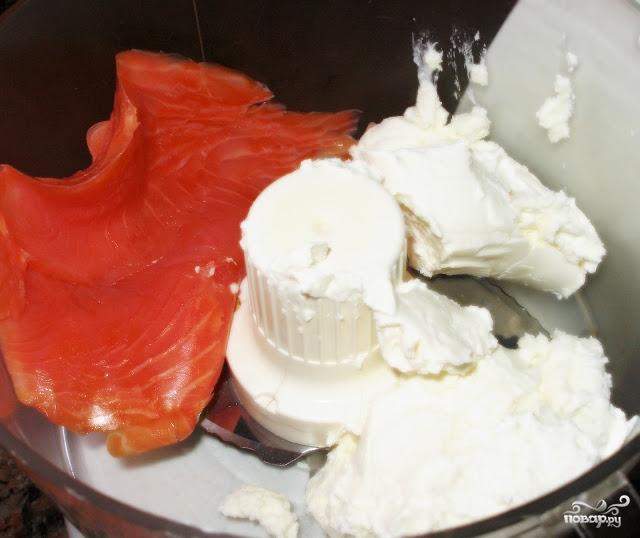 Рецепт Паштет из лосося