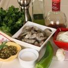 Рецепт Шашлык из креветок с семечками тыквы