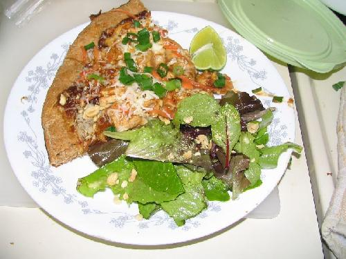 Тайская куриная пицца - фото шаг 16