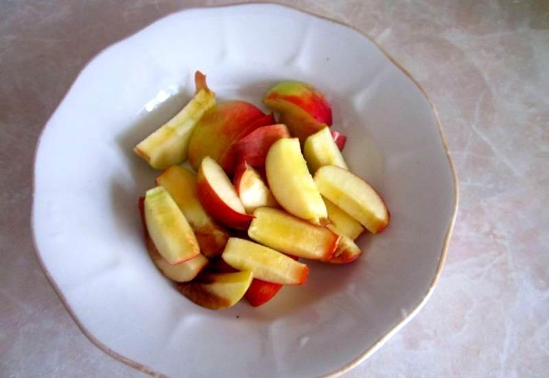 Рецепт Яблочная шарлотка на скорую руку