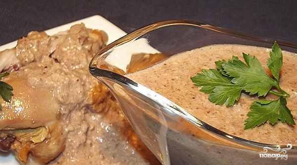 Курица под ореховым соусом
