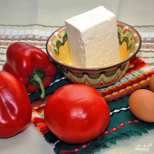 Рецепт Брынза запеченная в духовке