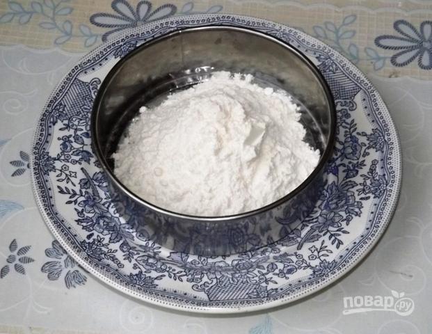 Торт бисквитный с фруктами - фото шаг 2