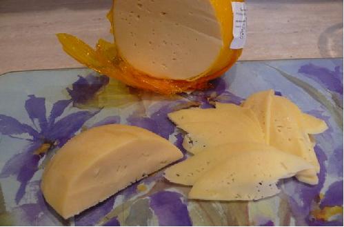 Рецепт Салат в сырной корзинке