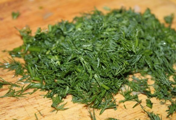 Салат к шашлыку из капусты - фото шаг 5