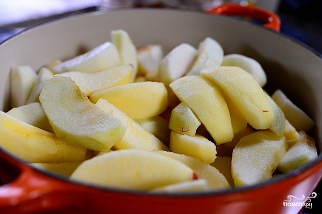 Яблочный соус к курице - фото шаг 1