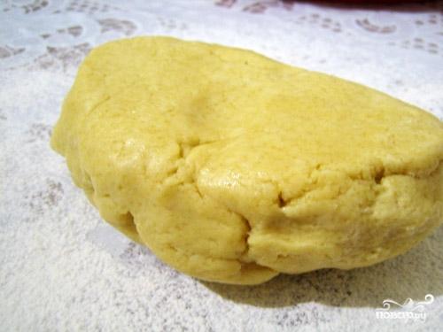 Рецепт Cлоеный пирог с брусникой