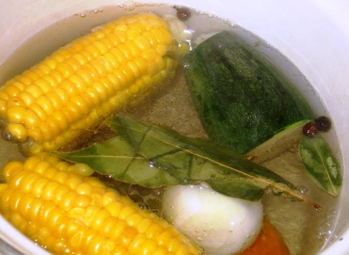 Вегетарианское заливное - фото шаг 2