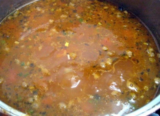 Суп харчо с рисом - фото шаг 4