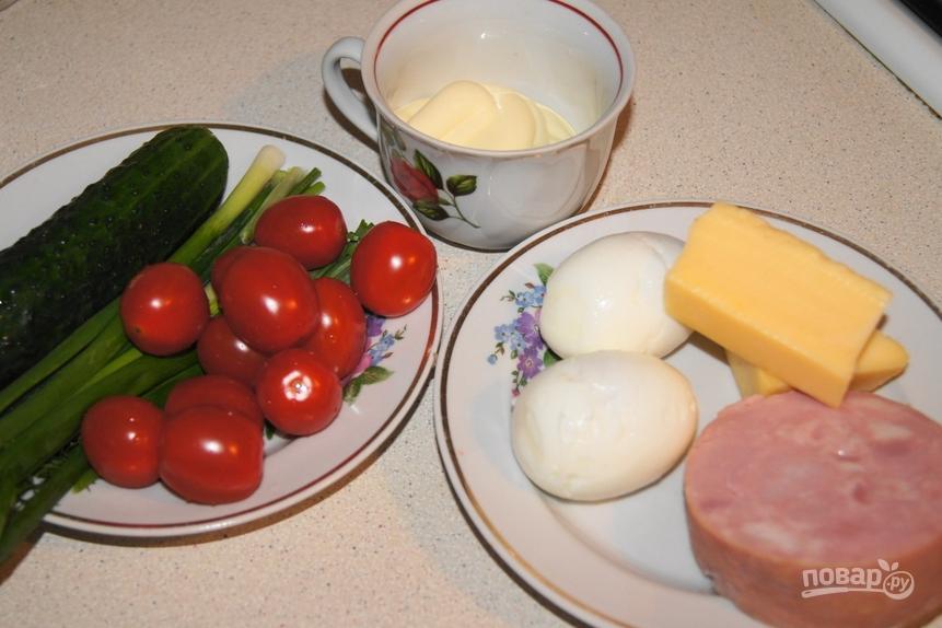 как приготовить закуску мухоморчики