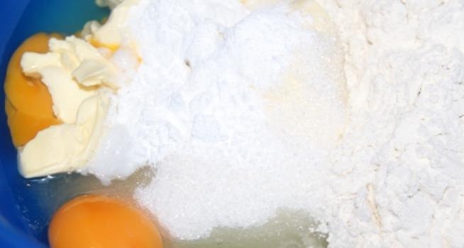 Абрикосовый пирог с марципаном - фото шаг 2