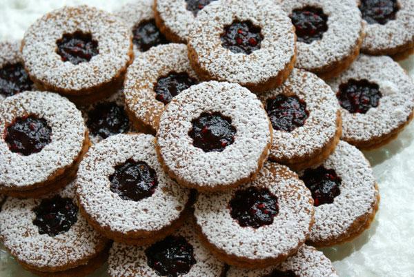 Печенье с джемом - фото шаг 16