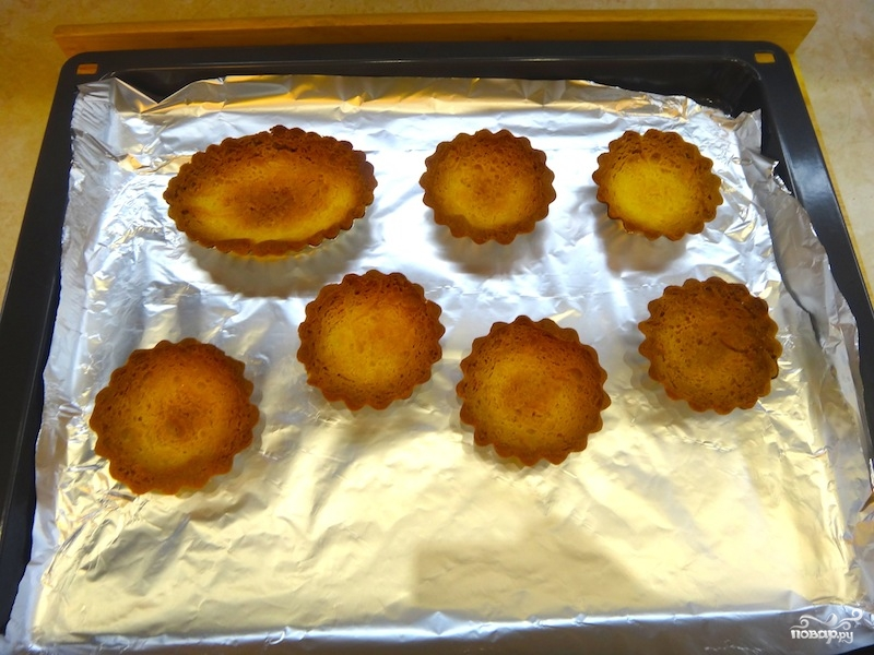 Тарталетки с фруктами в желе - фото шаг 16