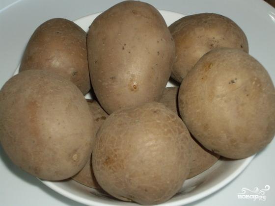 Рецепт Картофель с брынзой