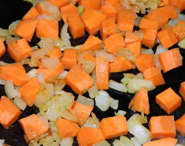 Вегетарианский суп с рисом - фото шаг 4