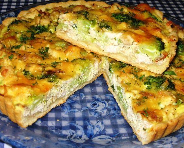 Пирог с курицей и брокколи - фото шаг 8