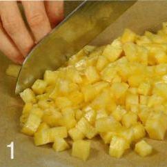 Салат из ананаса с креветками - фото шаг 1