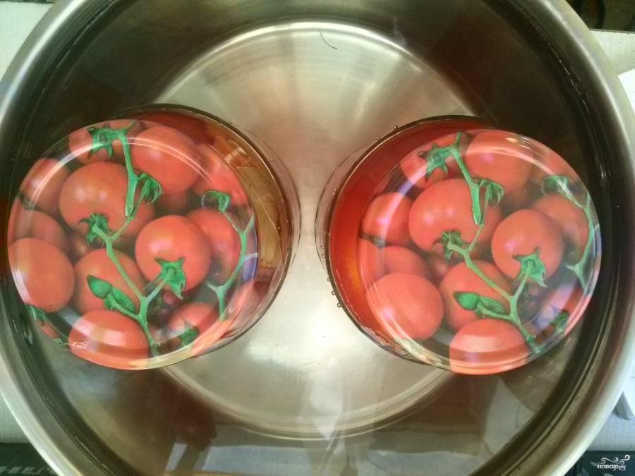 Помидоры с морковкой и луком - фото шаг 4