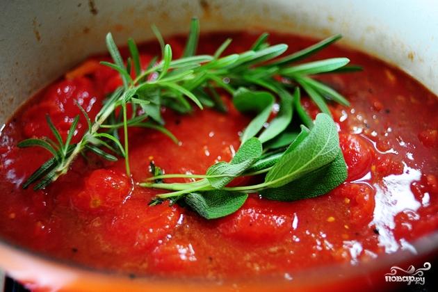 Куриные ножки в томатном соусе в духовке - фото шаг 7