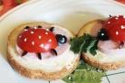 Маленькие бутерброды для детей