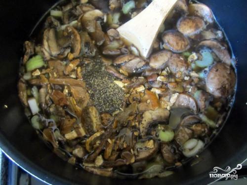 Грибной суп из сушеных белых грибов - фото шаг 2