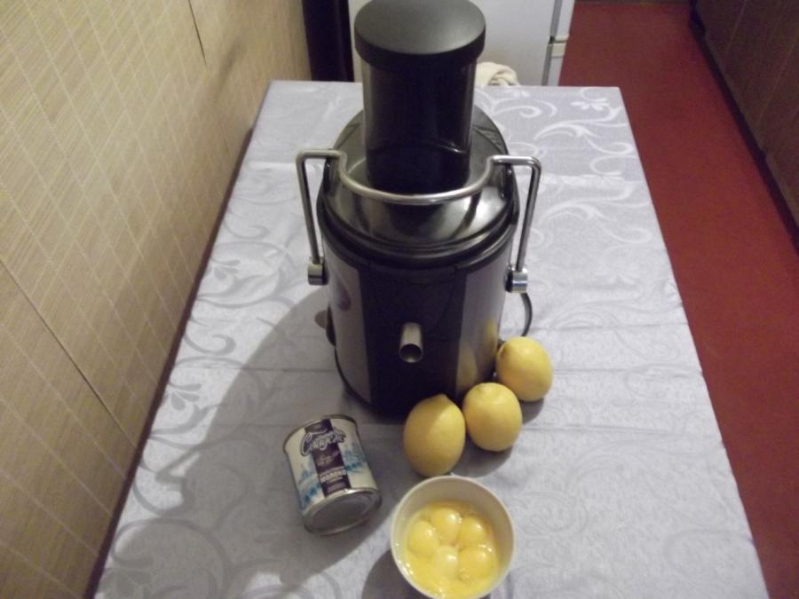 Лимонный торт с меренгой - фото шаг 4