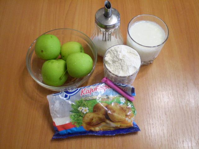 Рецепт Фрукты в кляре