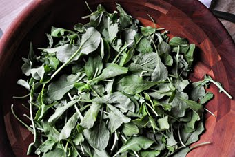 Рецепт Салат с рукколой и помидорами