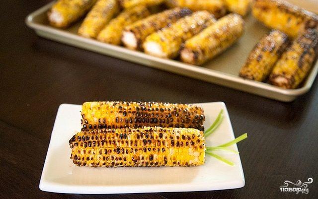Кукуруза в соевом соусе