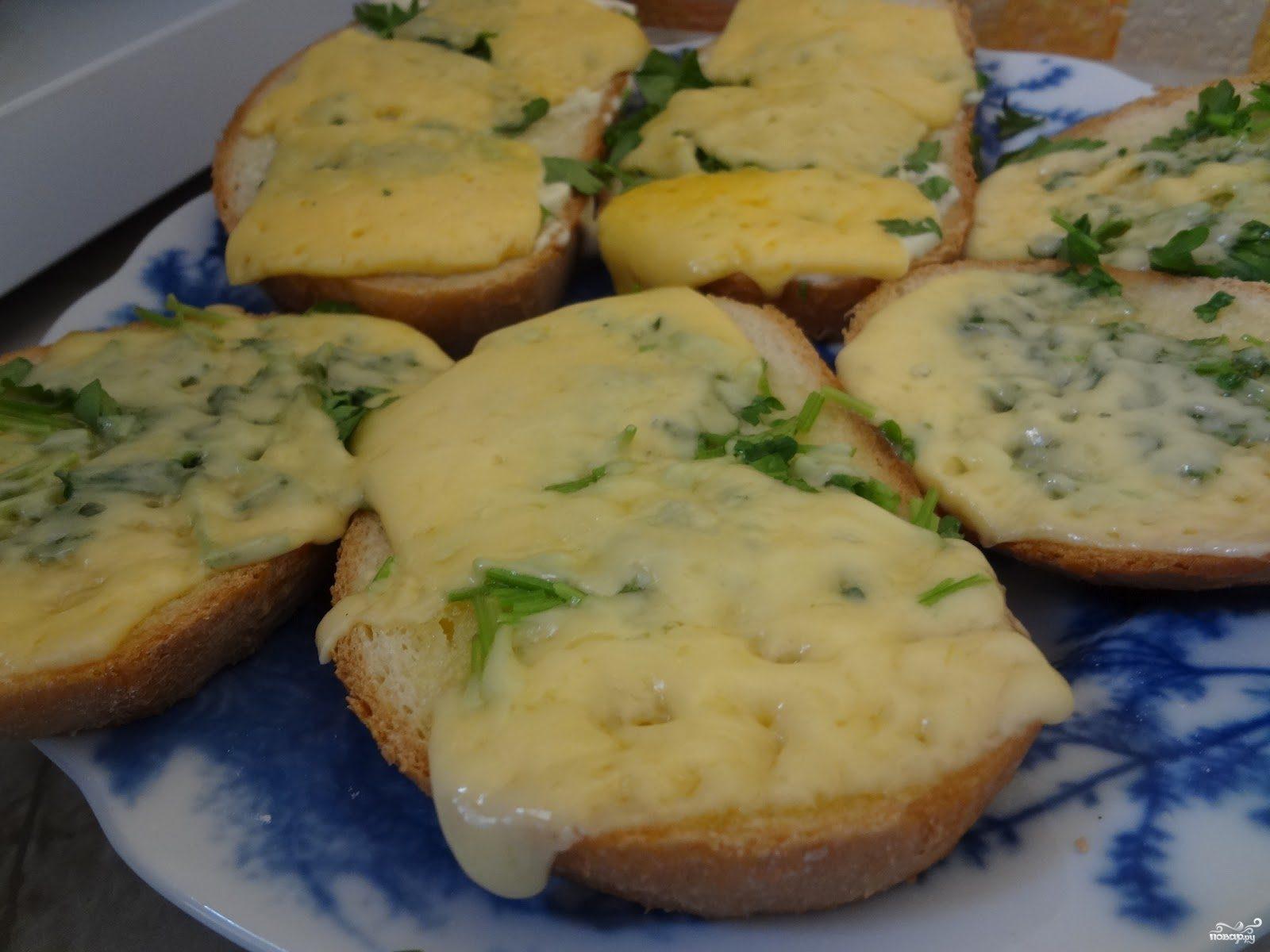 Рецепт Бутерброды с сыром в микроволновке