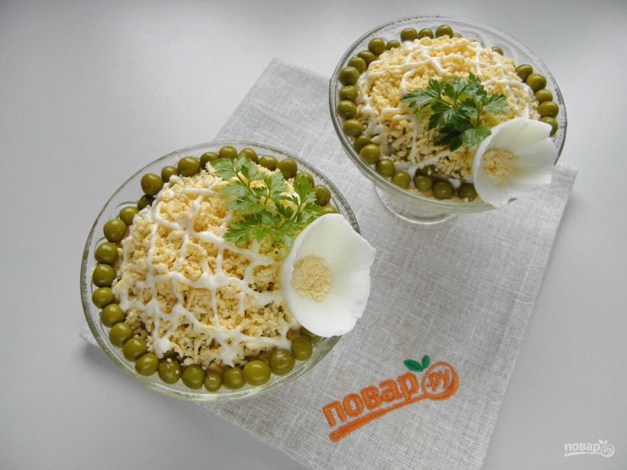зимний салат рецепт классический пошаговый рецепт