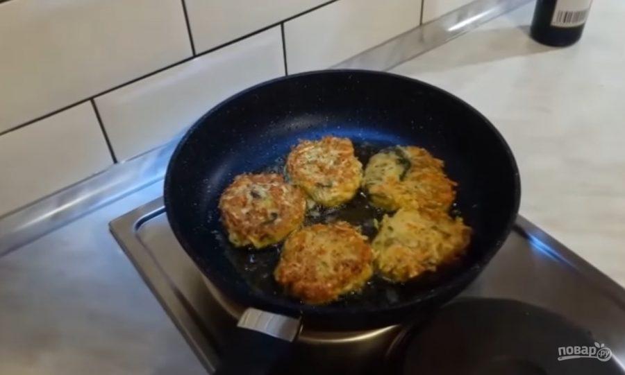 Котлеты из кабачков с сыром рецепт в духовке