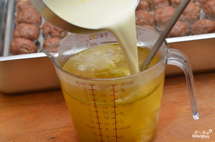 Сметанный соус для котлет - фото шаг 2