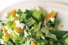 Салат с зеленой фасолью и сыром фета