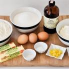 Рецепт Лимонные капкейки с кремом