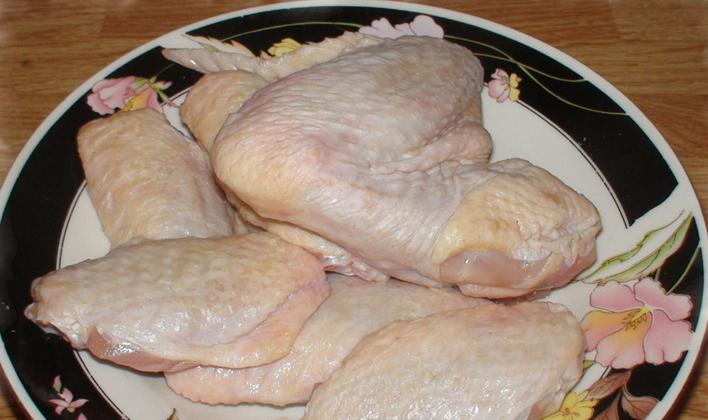 Крылышки в духовке в чесночном соусе - фото шаг 1