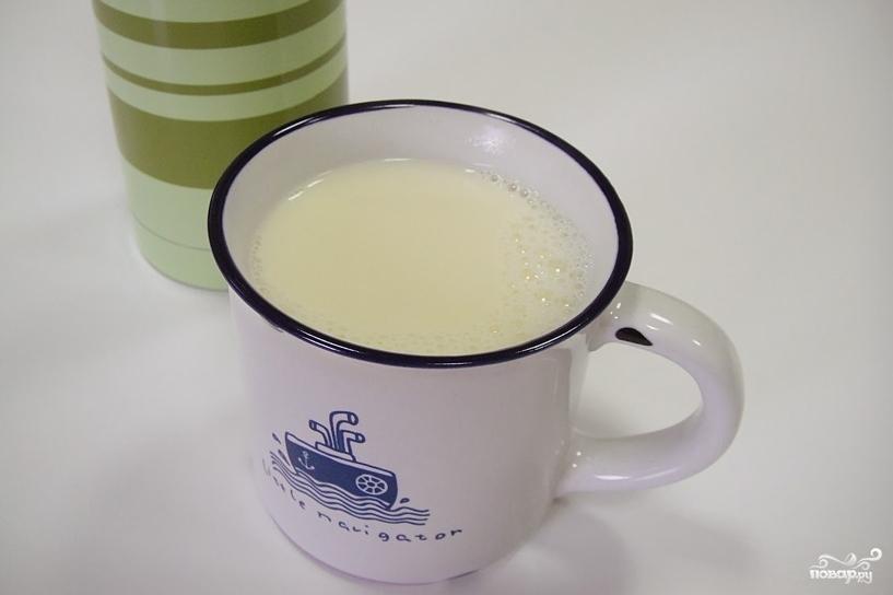 Имбирное молоко