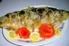Рыба, запеченная в духовке в фольге