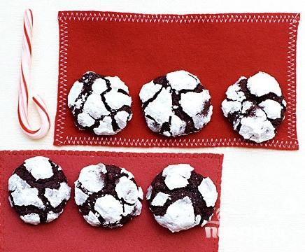 Рецепт Шоколадное печенье с эспрессо и сахарной глазурью