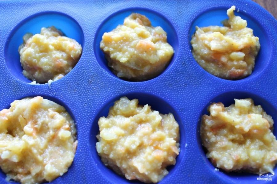 Картофельные котлеты с луком - фото шаг 4