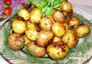 Картофель в духовке в кожуре - фото шаг 4