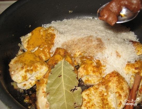 Курица по-тайски с рисом - фото шаг 5