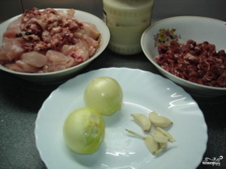 Рецепт Купаты из курицы