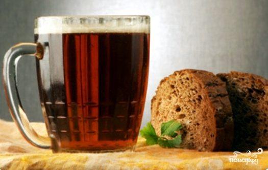 Рецепт Домашнее пиво из хлеба