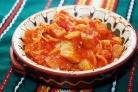 Лечо с баклажанами и помидорами